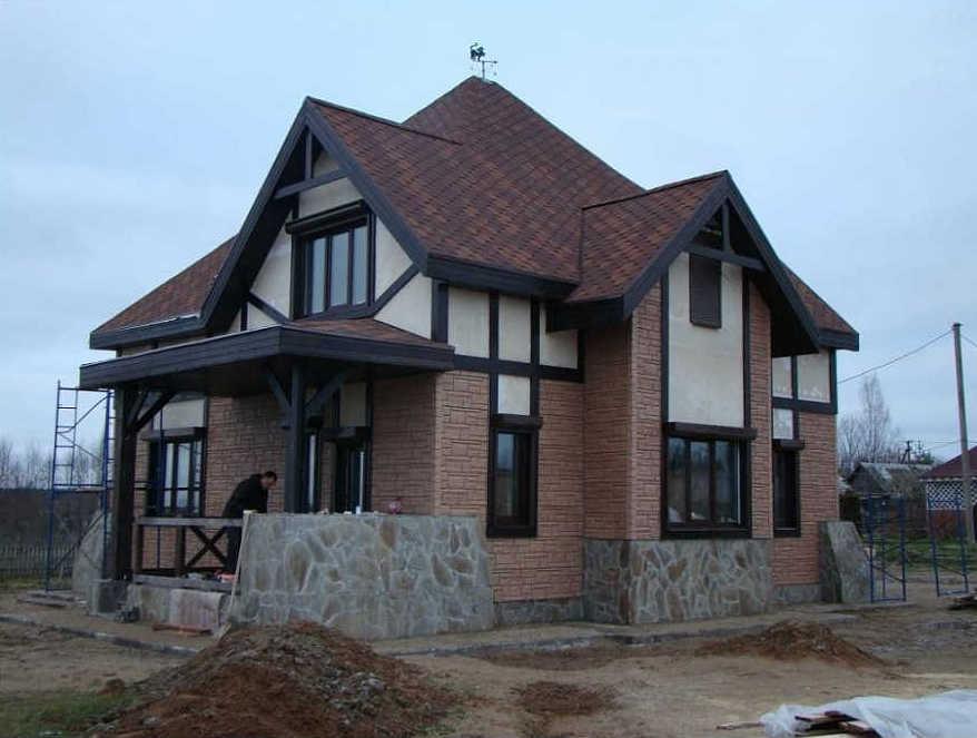 Декоративная элементы для отделки фасада