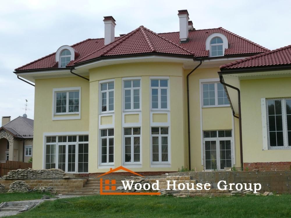 Строительство коттеджей в Подмосковье и Москве, проектирование и