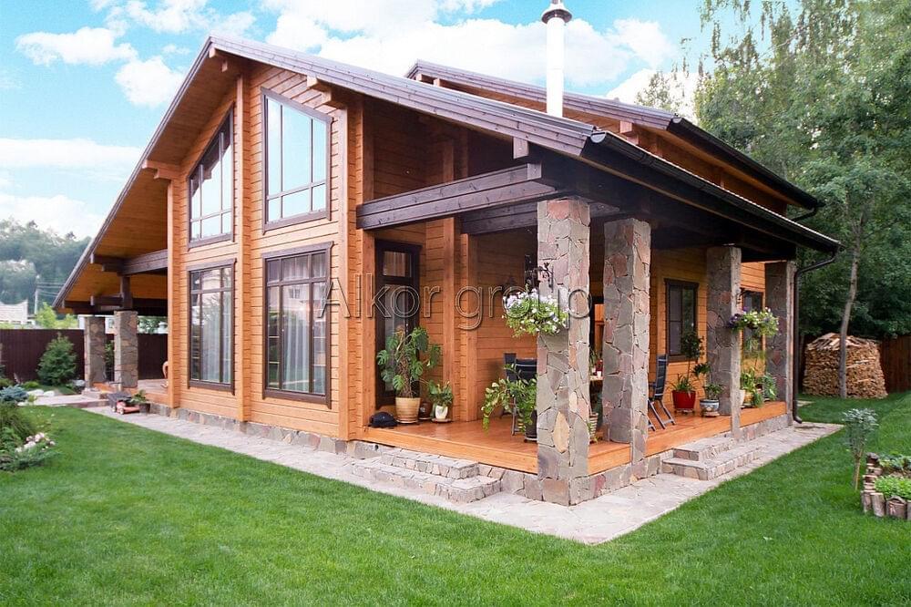 Строительство каркасных домов под ключ Цены на дома из