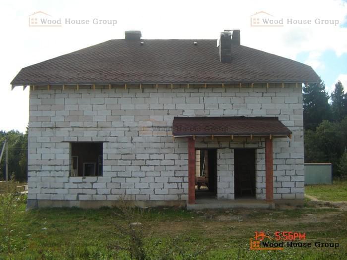 Дом из газоблоков. Сергиево-Посадский