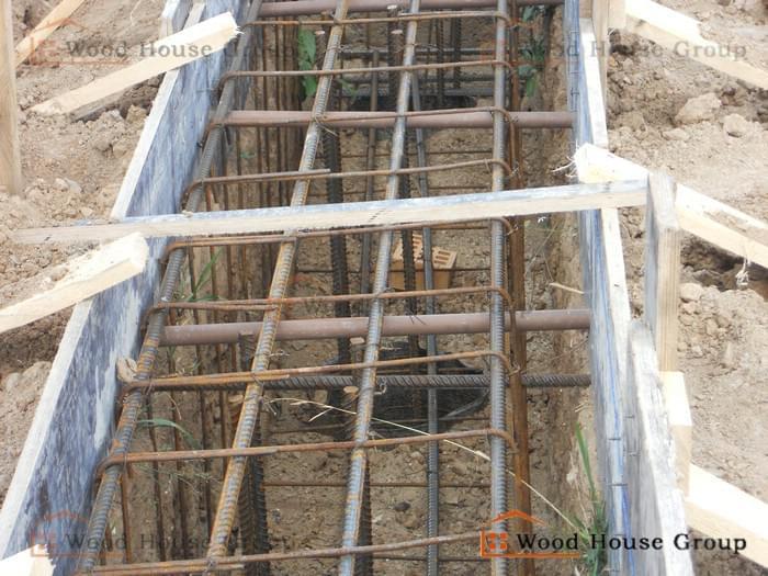 Дом строится по проекту Аксаково