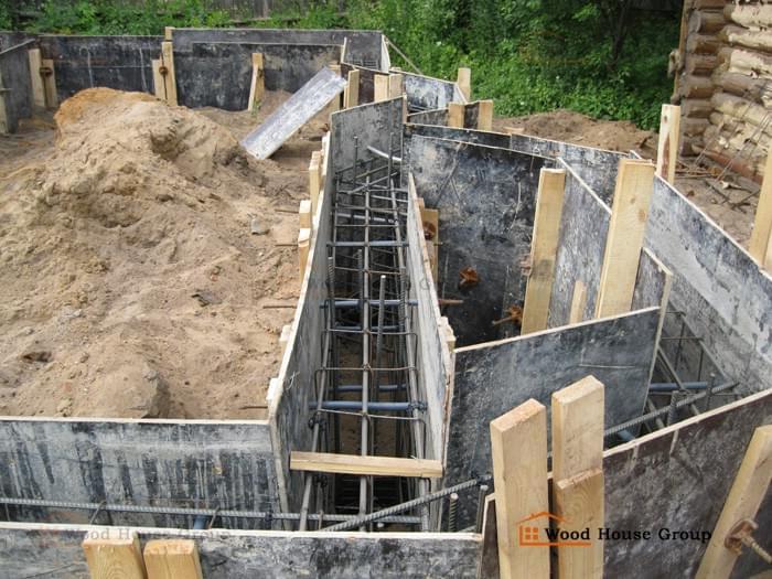 Сколько стоит ленточный фундамент под дом Одинцовский район