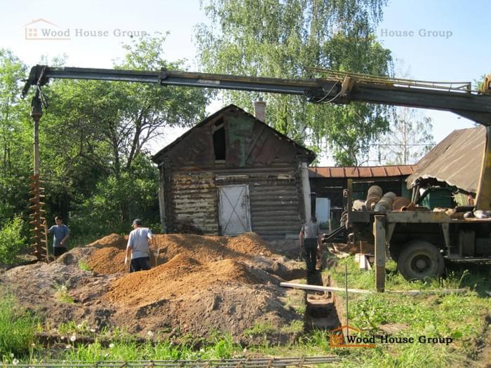 Стоимость ленточного фундамента 6 на 8 Щелковский район