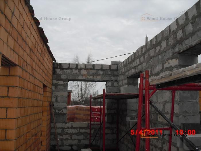 Объект строится по проекту