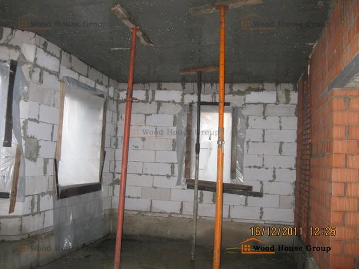несущие стены в доме из газобетона