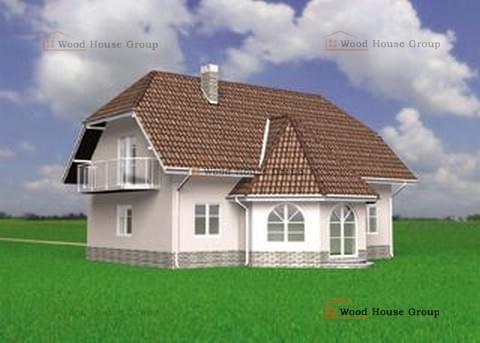 дачный дом из пеноблоков проекты