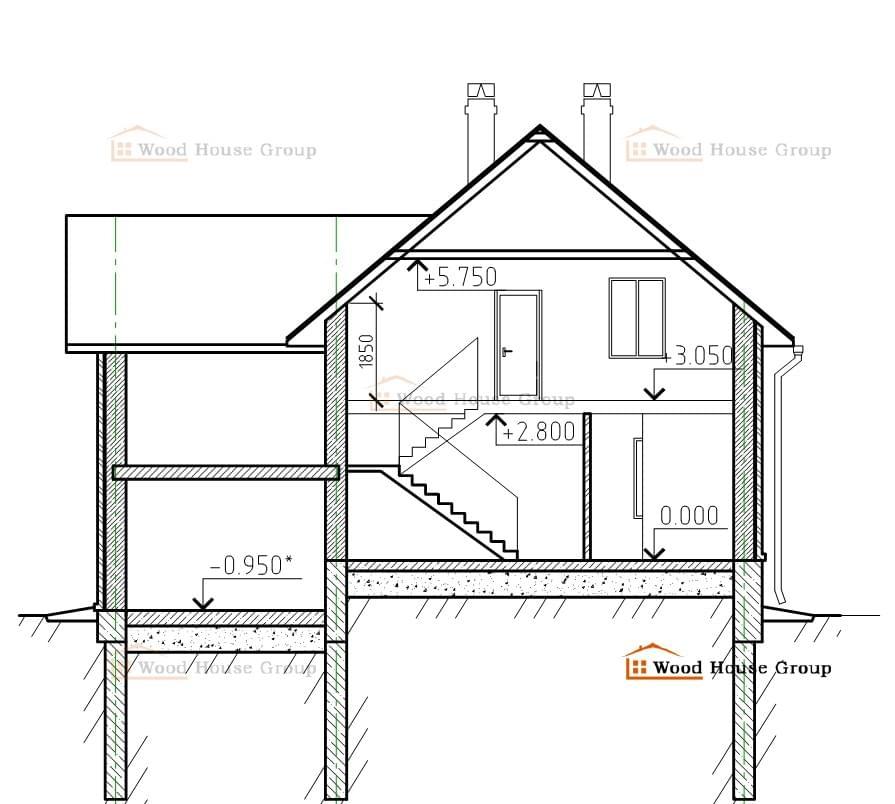 Планировка дома своими руками из пеноблоков