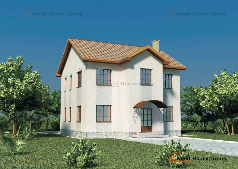 Проекты домов из пеноблоков 10 на 10