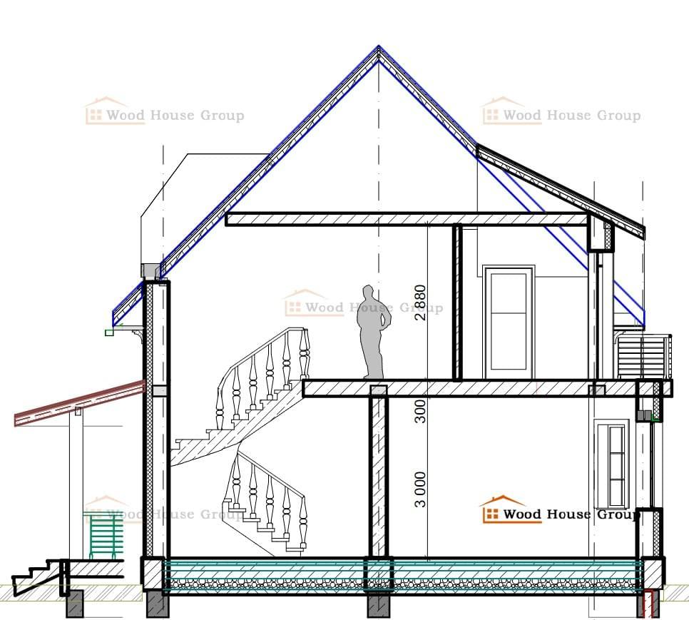 проекты домов из пеноблоков бесплатно 10 на 10