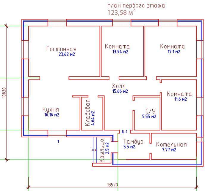 Как построить дом из пеноблоков одноэтажный своими руками